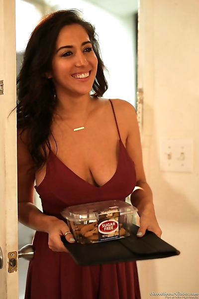 Busty April Oneil brings..