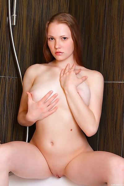 Young solo girl Nerila wets..