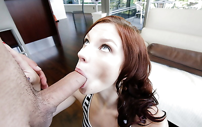 Hardcore blowjob done by an..