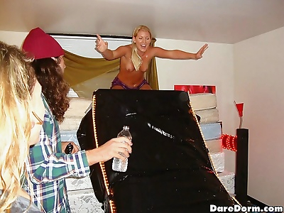 College sex party with hot..