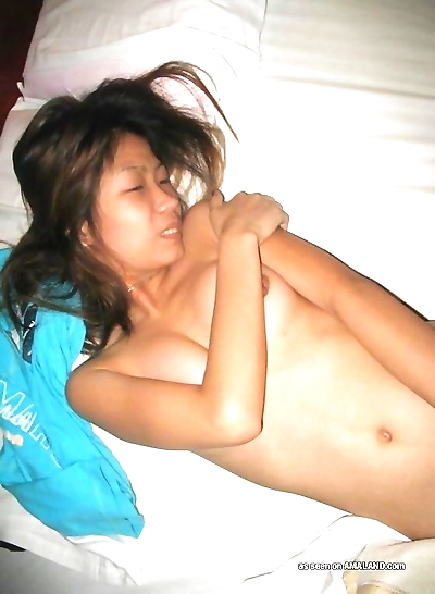 Petite asian babe getting..