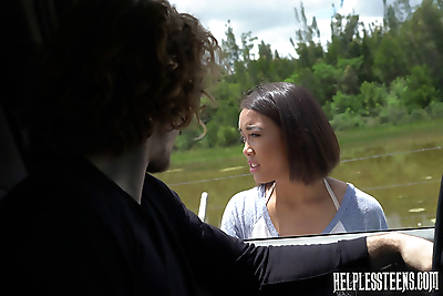 Helpless teens aria skye -..