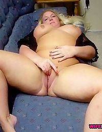 Nude amateur wives fucking with two guys at home - part 630