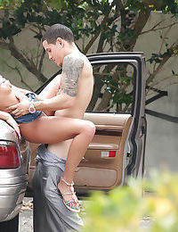 Teenage sweetie with tiny tits Ivy Winters gets shafted outdoor